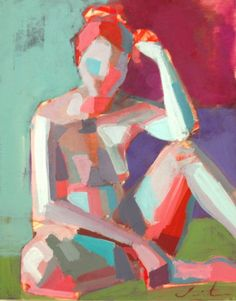 nude figure study - Teil Duncan