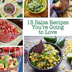 15 Salsa recipes you're going to love
