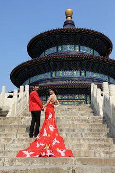 Wedding at Temple of Heaven, Beijing