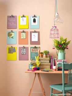 Home office decor ideas that will amazing inspirations 11 ⋆ Main Dekor Network Funky Home Decor, Home Office Decor, Office Furniture, Furniture Ideas, Creative Office Decor, Home Office Colors, Office Decorations, Trending Paint Colors, Mosaic Artwork