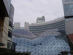 Modern Golden Terraces shopping centre, Warsaw