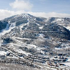 Deer Valley Resort, Park City, UT - Top 20 Ski Resorts - Sunset (I'm never going to want to leave the West Coast)