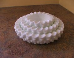 Darling Fenton Vintage White Milkglass by TBsouthernvintage