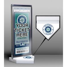 Seattle #Mariners My First Game Ticket Display Stand $19.99