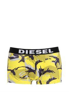 DIESEL 3 Pack Cotton Jersey Boxer Briefs, Multicolor. #diesel #cloth #underwear