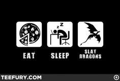 Skyrim geek life    http://www.geeksofdoom.com/GoD/img/2012/01/2012-01-28-eatslaydragons-533x363.jpg