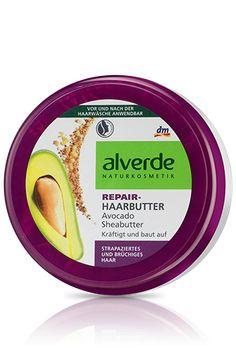alverde Repair Haarbutter Acovado Sheabutter