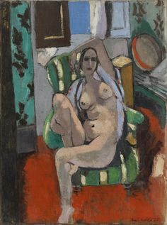 Henri Matisse. Odalisque with a Tambourine. Nice, place Charles-Félix, winter 1925-26