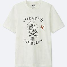 Pirates of the Caribbean graphic t-shirt