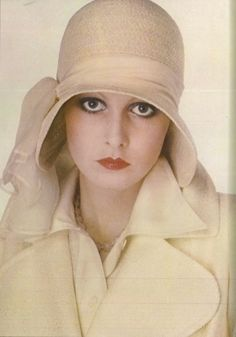Twiggy, 1973.  Photographed by Eva Sereny for Vogue UK.