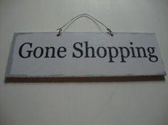 Deurhanger Shopping: Long Island Living Maten: Breed 18 x hoog 6 cm € 1,95