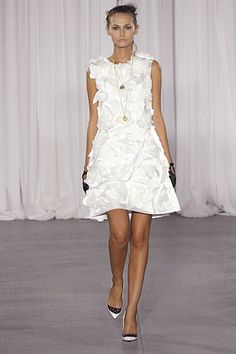 Rodarte Spring 2007 Ready-to-Wear Collection Slideshow on Style.com