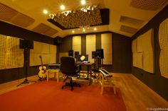 Vicoustic treated Mixing Studio space.