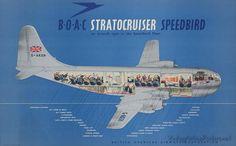 BOAC Stratocruiser Speedbird