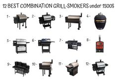 13 Best Combination Grill-Smokers under 1500$ images in 2017