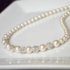 Pearls & diamonds ♥