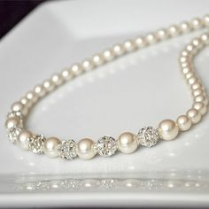 Pearls & diamonds ♥