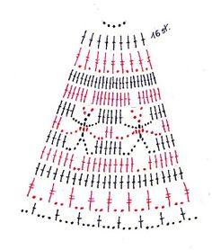 Christmas archives beautiful crochet patterns and knitting patterns – Artofit Easter Crochet Patterns, Crochet Borders, Crochet Chart, Thread Crochet, Filet Crochet, Crochet Motif, Knitting Patterns, Crochet Christmas Ornaments, Holiday Crochet