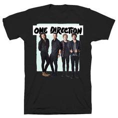 One Direction Green Box Tour Black T-shirt