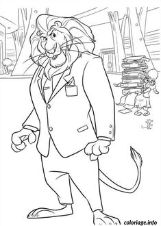 zootopia 16 coloring pages printable and coloring book to print for free find more coloring pages online for kids and adults of zootopia 16 coloring pages - Coloring Page Zootopia
