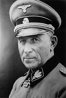 """Colonel-General Paul """"Papa """" Hausser, OberstGruppenführer der Waffen SS survived W.II ,Died at 91 , Fought to clear the name of the Waffen SS Military Photos, Military History, Churchill, Military Officer, Military Uniforms, The Third Reich, German Army, Panzer, World War Two"""