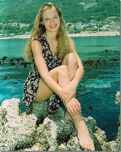 Charlize Theron jeune