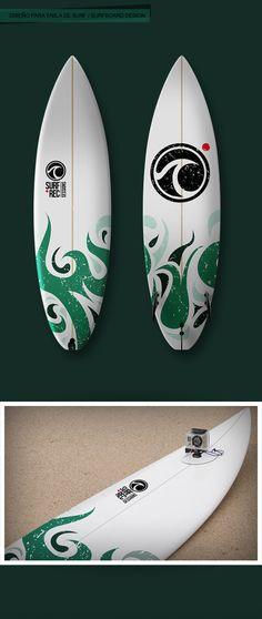 Surf Rec Sessions - Surfboard design by Marco Gutiérrez, via Behance