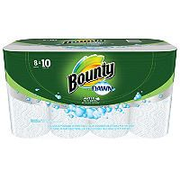 Bounty White Paper Towels with Dawn Detergent (8 Large Rolls) - Sam's Club