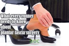 Today on Doc On The Run podcast we're talking about everything that runners should need to know about surgery on the plantar fascia.  It's really important that you understand what all the different surgical procedures mean in terms of the procedures themselves but also what that mean to you as a runner. I personally believe that my entire job is to help runners continue running and so I have a perspective that's a little different than some other surgeons. So we are going talk all of the…