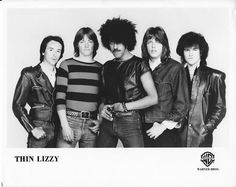 Thin Lizzy Music Love, Rock Music, Great Bands, Cool Bands, Brian Downey, Dancing In The Moonlight, Thin Lizzy, Greatest Rock Bands, Live Band