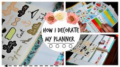 How I Organize and Decorate My Planner: Erin Condren Life Planner Best Planners, Day Planners, Planner Tips, Erin Condren Life Planner, Life Organization, Journals, Organize, Fans, Social Media