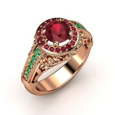 ok created an over the top one this time....:) hehe this site is like your very own jeweler,I have a thing for Rubies and emeralds :?