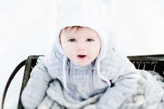 Baby's First Snow by April Marie Photography