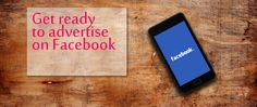 Get ready to advertise on Facebook Get Ready, Online Marketing, Advertising, Social Media, Facebook, Learning, Studying, Teaching, Social Networks