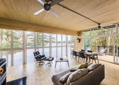Cross-Laminated-Timber Cottage
