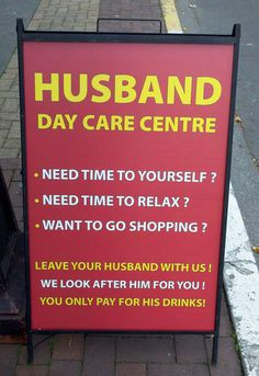 Sign in front of a BAR ->> haha
