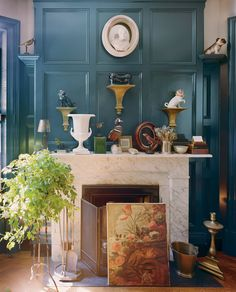 Brian Sawyer's West Village aerie is layered with treasures fine and feathered.