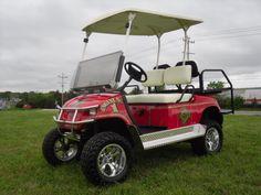 Millville Fire Department Golf Cart Wrap Golf Carts