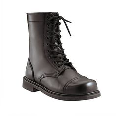 Army Universe Black GI Style Military Combat Boots 5075 Size 13-Regular 573a4432642