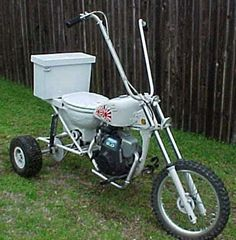 No. 3 Toilet Motorcycle