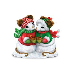 Charming Tails Snow Tails Figurine Collection