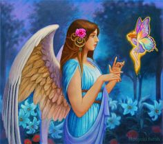 Angels are direct creations of God, each one a unique Master's piece.  ^i^ 《♡》^i^