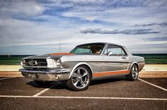 1965 Ford Mustang Coupe - Lightning Strike Silver | Flickr - Photo Sharing!