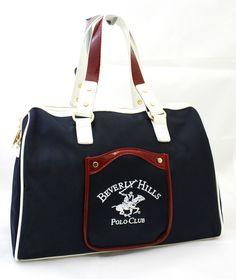 Borsa Bauletto Tracolla Donna Beverly Hills Polo Club Art. BH-163 woman bag blu