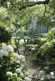 .A private place outside in the garden..
