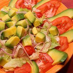 Taco Salad Recipes, Avocado Salad Recipes, Yummy Pasta Recipes, Vegetarian Recipes, Healthy Recipes, Avocado Dishes, Healthy Foods, Diet Recipes, Avocado