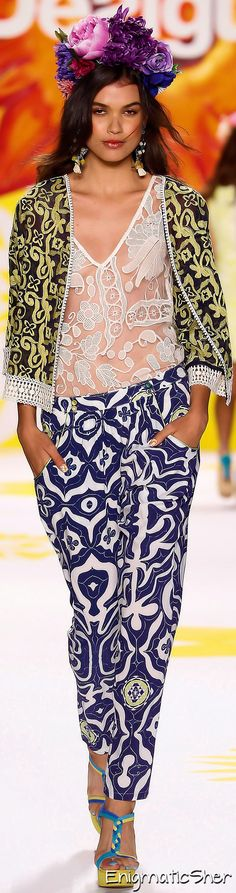 Desigual Spring Summer 2015 Ready-To-Wear