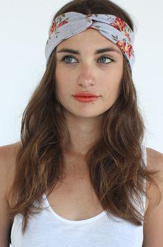 reif Floral turban/Headband. Yo Vintage