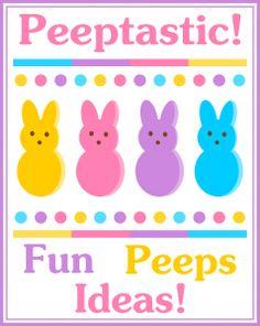 Peeptastic Peeps Ideas Round Up!- Lots more Peeps at see.walmart.com/peeps?cid=lrp.428.3399