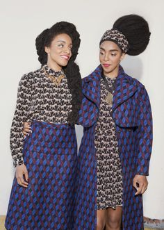 & Other Stories | A knitted style study with the Quann Sisters.